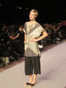Modevisning på Berns i Stockholm