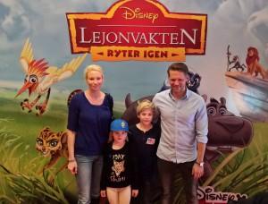 Wonderland & Disney junior höll i premiären av Lejonvakten