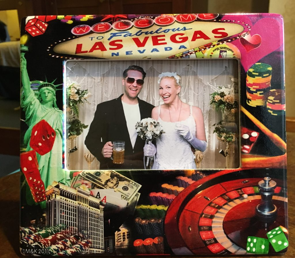 Bröllopsfoto från Las Vegas