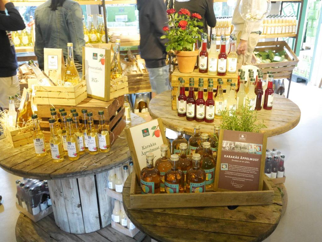 Äppelbutiken på Kiviks Musteri