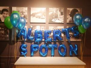 Alberts städ, Spoton