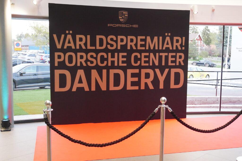 Invigning av Porsche Danderyd