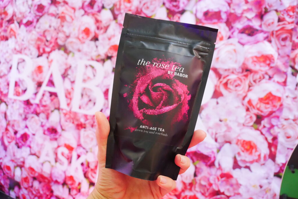 The rose tea