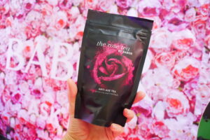 The rose tea
