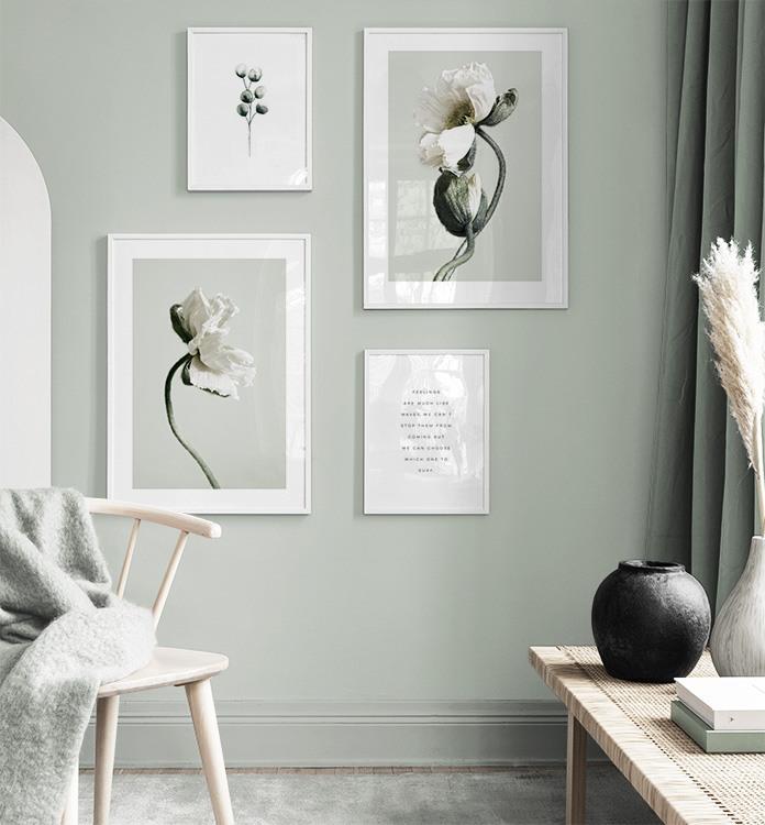 Skapa liv i rummet med tavlor