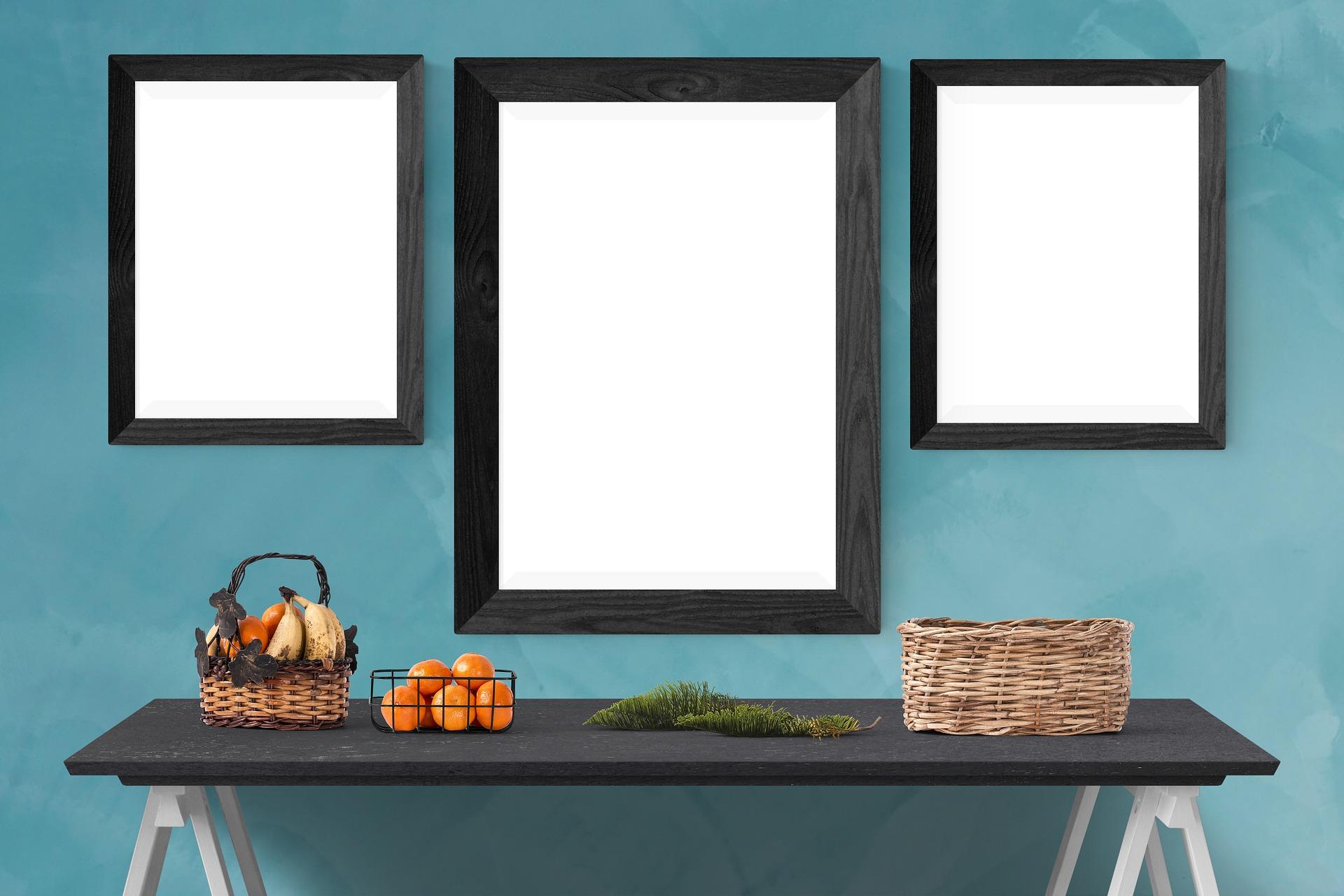 5 sätt att dekorera tomma väggar